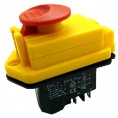 Кнопка бетономешалки с крышкой, 4 контакта.