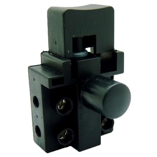Кнопка дисковой пилы малой мощности с толстым фиксатором.